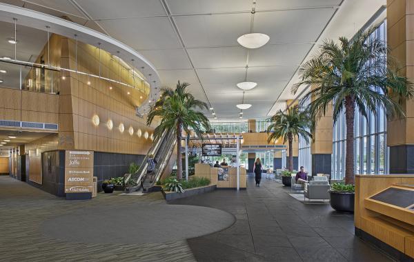 American Center, Interior