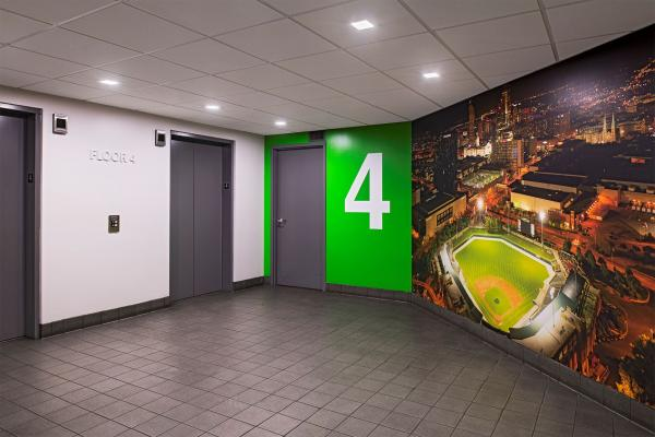 Parking Elevator Lobby
