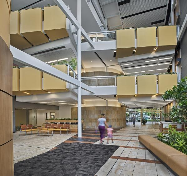 College Park Office Center, Interior
