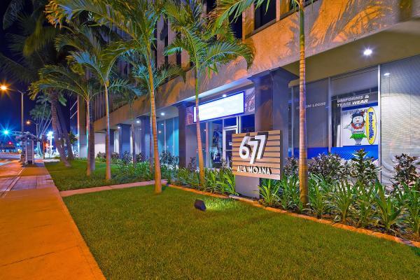 677 Ala Moana, Interior