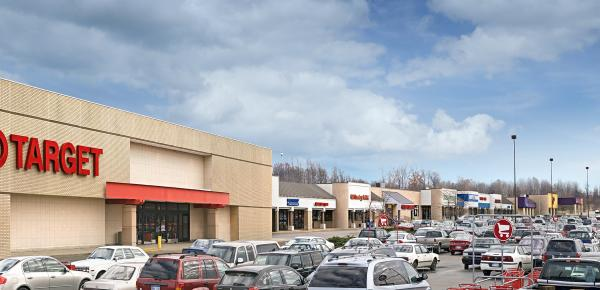 Minges Brook Mall, Exterior