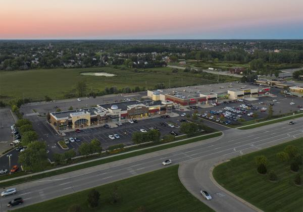 Romeo Commons, Aerial View