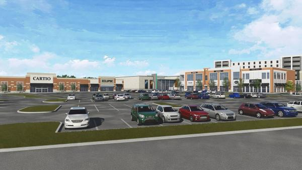 Rendering of The Village at Bloomfield