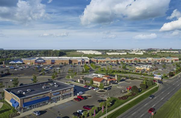 Independence Marketplace, Aerial View